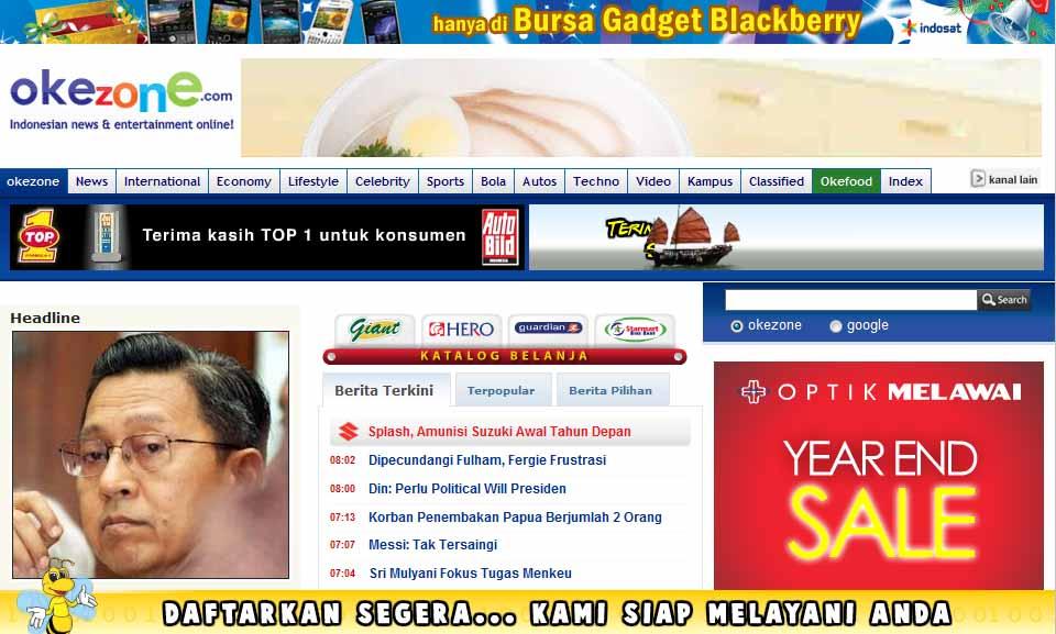 Okezone.com vs Detik.com vs Kompas.com, Pertarungan Sengit